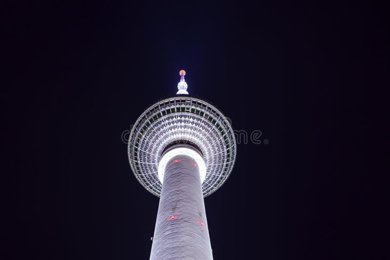 De Toren van TV van Berlijn stock foto's