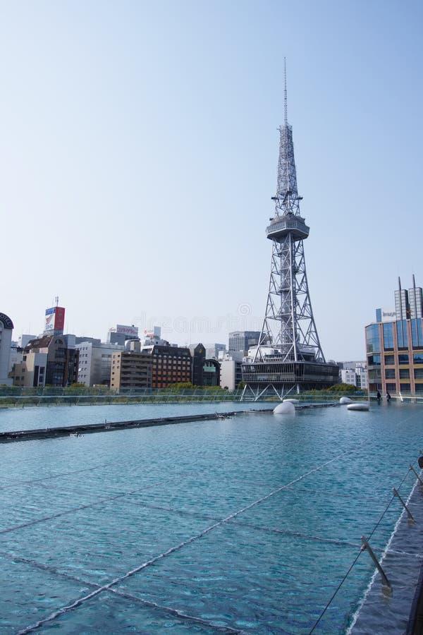 De Toren van TV van Nagoya voor Oasis21 stock afbeelding