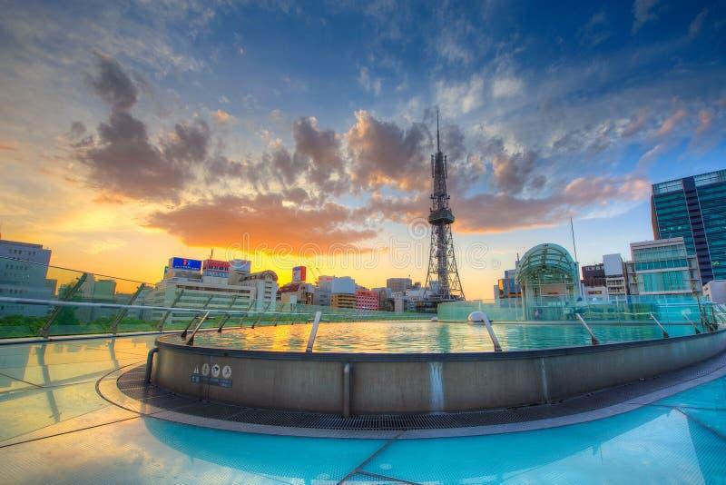 De Toren van TV van Nagoya royalty-vrije stock afbeeldingen