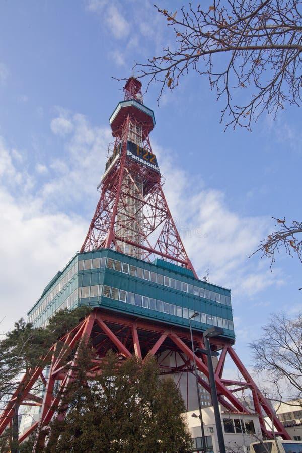De Toren van TV van Sapporo royalty-vrije stock fotografie