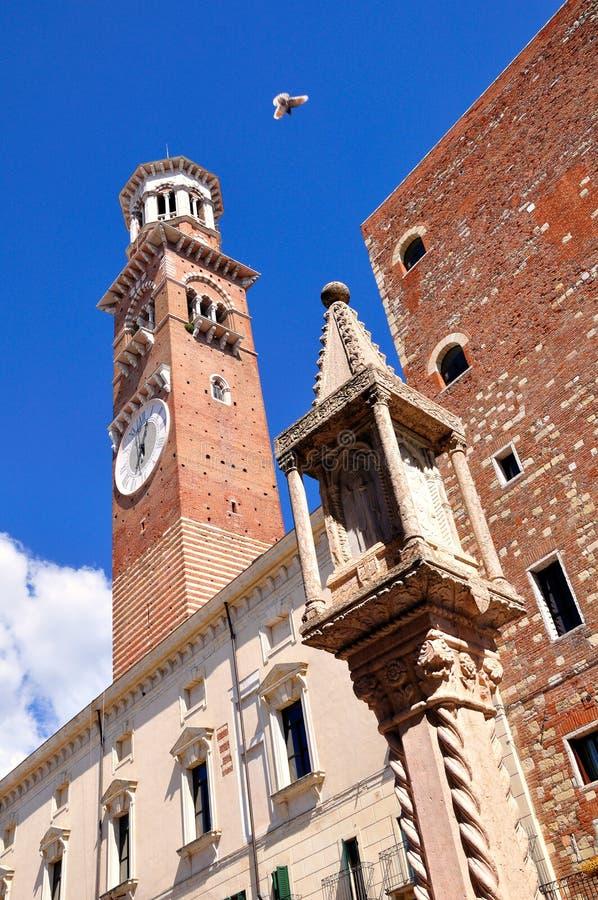 De toren van Verona ` s royalty-vrije stock foto