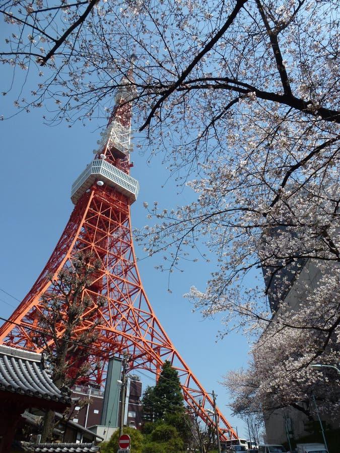 De Torenpost van Tokyo stock foto