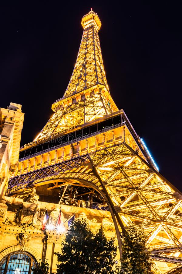 De Torenreplica van Las Vegas Eiffel royalty-vrije stock foto