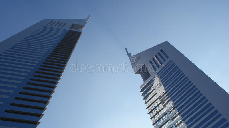 De Torens van emiraten stock foto