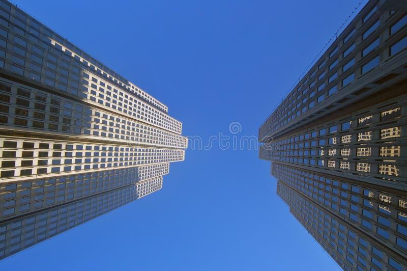 De torens van het bureau stock afbeeldingen