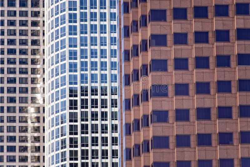 De torens van Los Angeles stock foto's