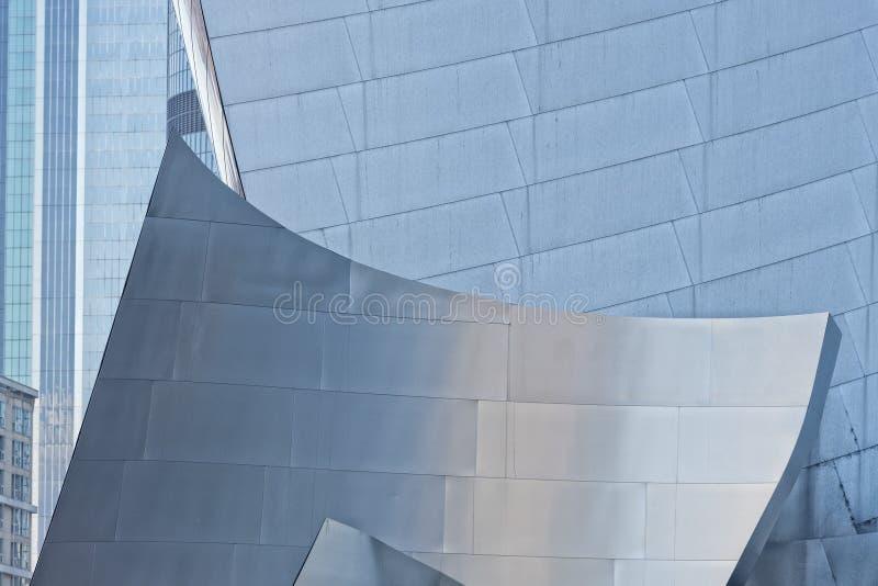 De torens van Los Angeles stock afbeeldingen