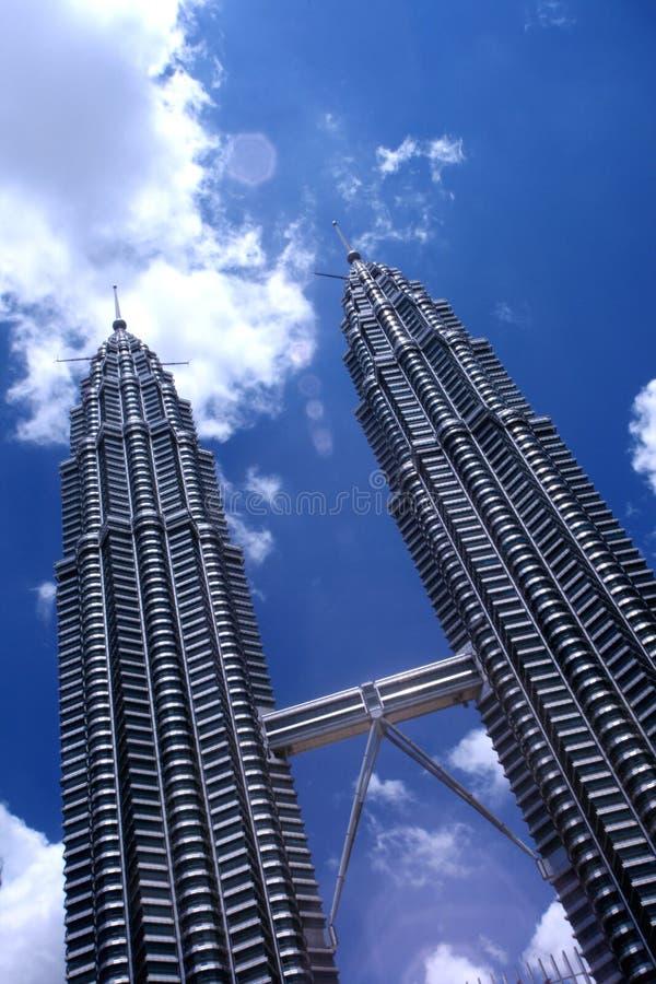 De torens van Petronas royalty-vrije stock foto's