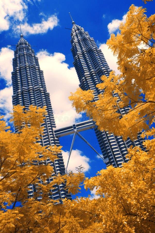 De torens van Petronas stock afbeelding