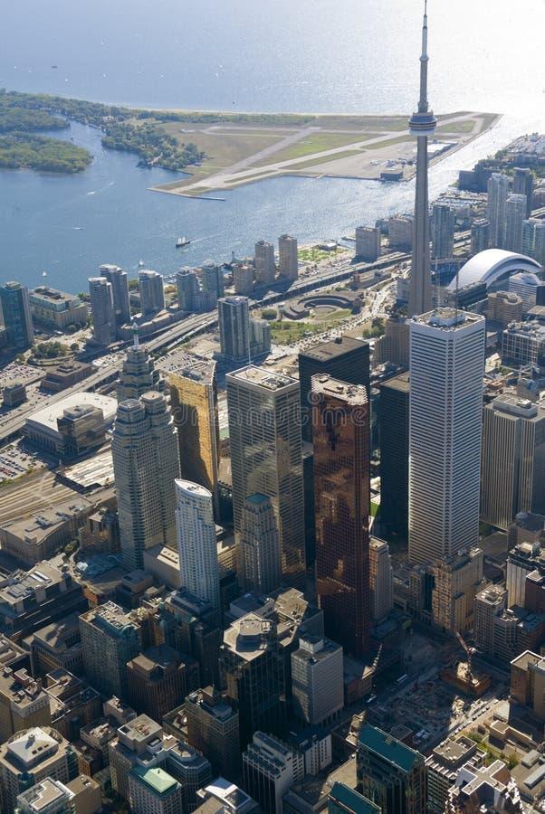 De Torens van Toronto royalty-vrije stock afbeelding
