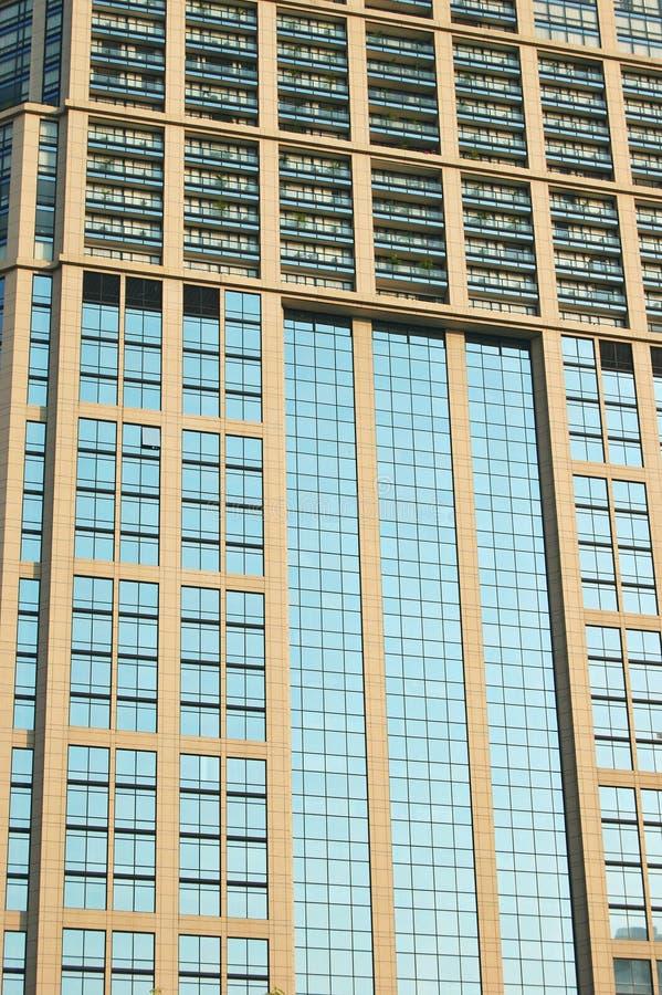 De torenvensters van het bureau royalty-vrije stock afbeelding