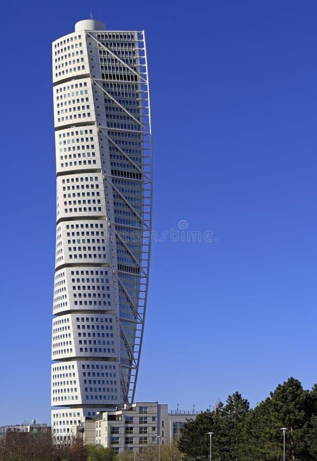 ` De torneado del torso del ` del rascacielos en Malmö, Suecia foto de archivo