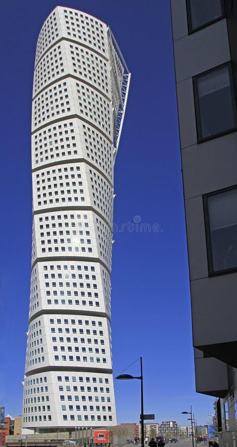 ` De torneado del torso del ` del rascacielos en Malmö, Suecia fotos de archivo