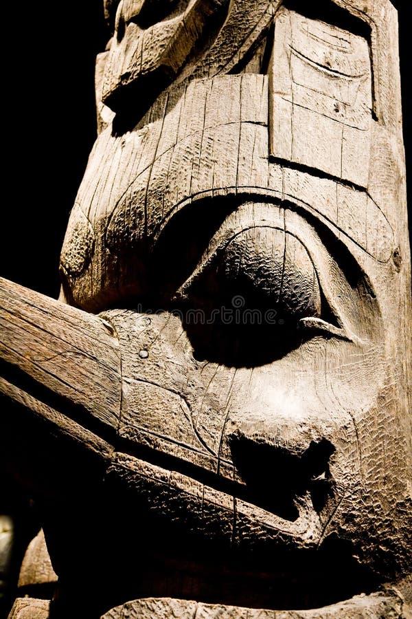 De Totem van Inuit royalty-vrije stock afbeeldingen