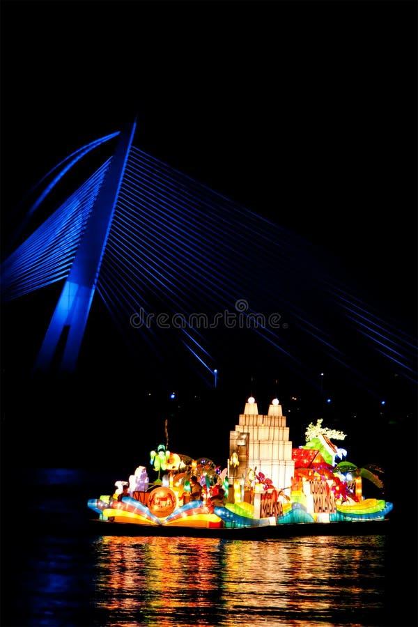 De tourisme beaux Floria flotteurs de la Malaisie images stock