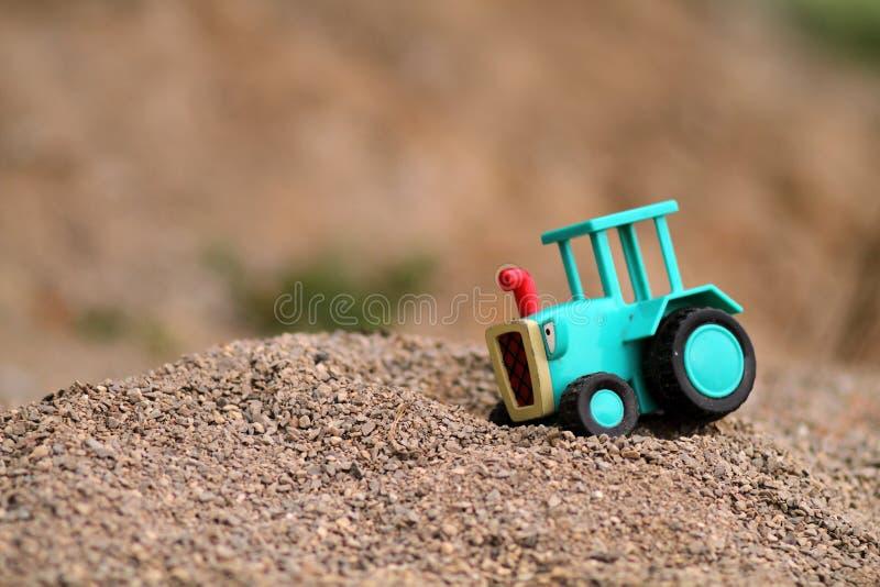 De tractor van de baby royalty-vrije stock foto's
