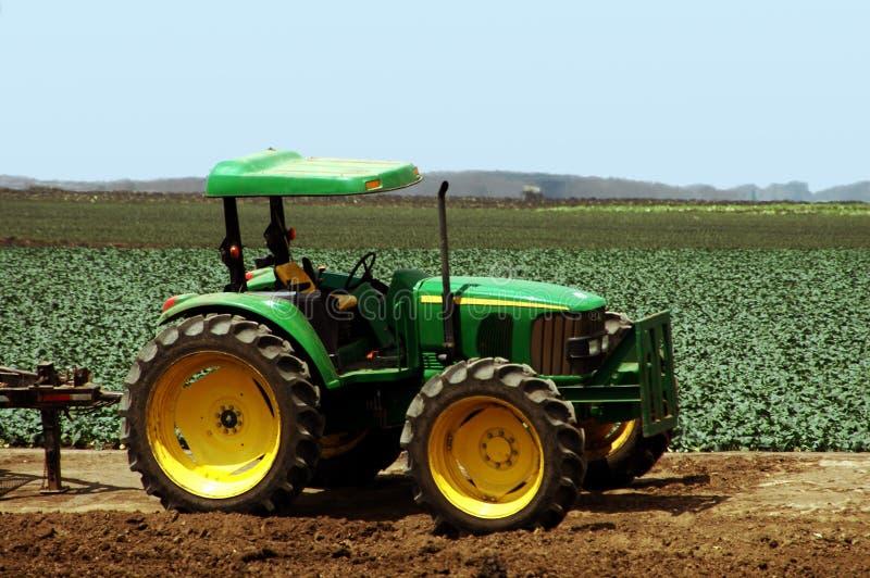 De Tractor van het landbouwbedrijf royalty-vrije stock afbeeldingen