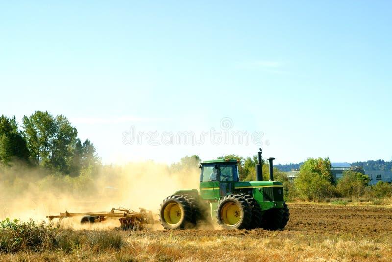 De tractor van het landbouwbedrijf royalty-vrije stock foto
