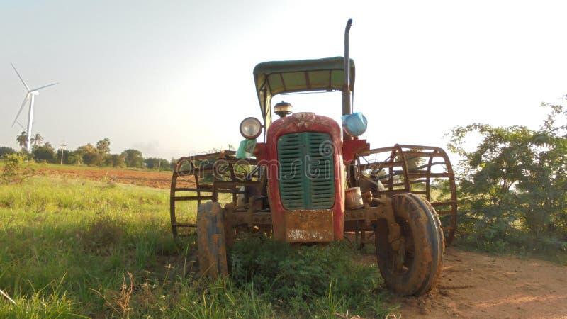 De Tractor van Masseyferguson stock foto's