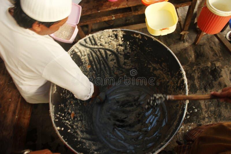 De Traditie van Buburbanjar Samin royalty-vrije stock afbeeldingen