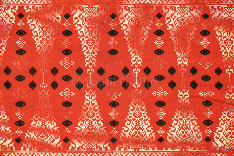 Het traditionele Patroon van de Sarongen van de Batik royalty-vrije stock fotografie