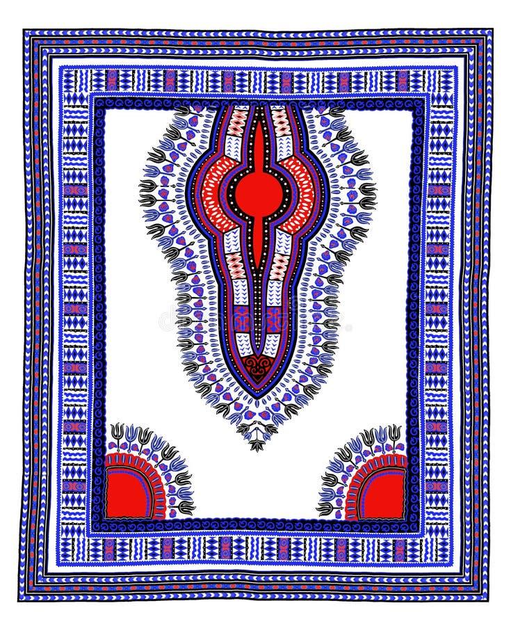 De traditionele Afrikaanse Textiel van Dashiki stock illustratie