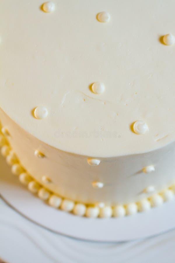De traditionele Cake van het Huwelijk stock foto's