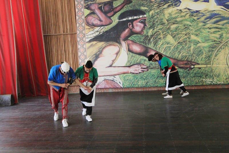 De traditionele gebeurtenis van muziekprestaties in Vietnam royalty-vrije stock afbeeldingen