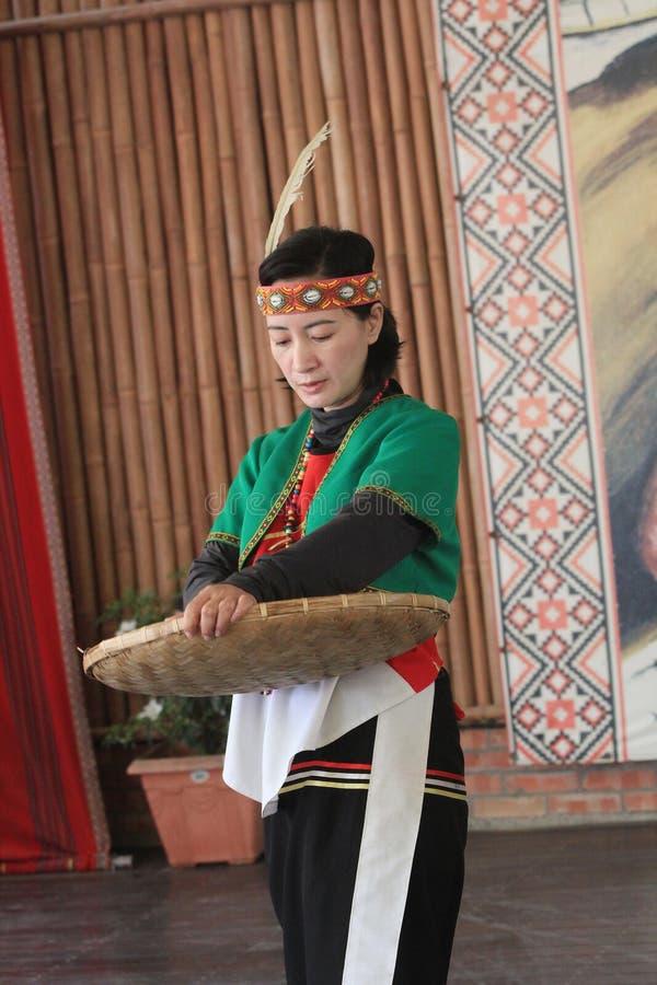 De traditionele gebeurtenis van muziekprestaties in Vietnam royalty-vrije stock foto's