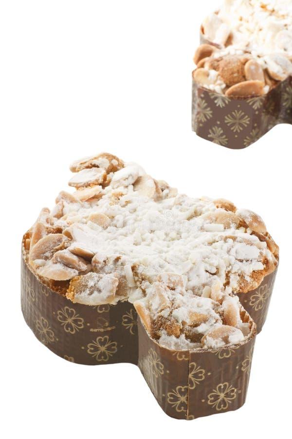 De traditionele Italiaanse cake van Pasen stock afbeeldingen