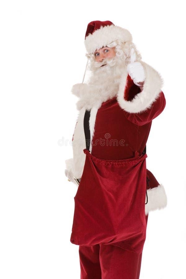 De traditionele Kerstman royalty-vrije stock afbeeldingen