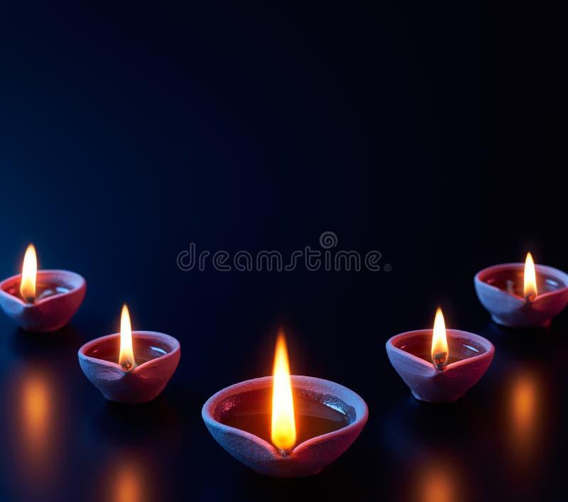 De traditionele lampen van kleidiya stock fotografie