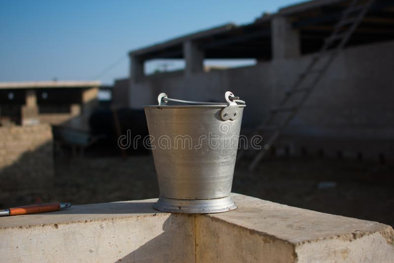 De traditionele Pakistaanse emmer stock foto's