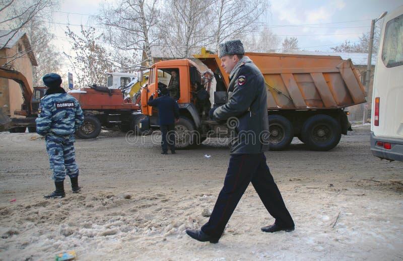 De tragedie in Ivanovo stock foto