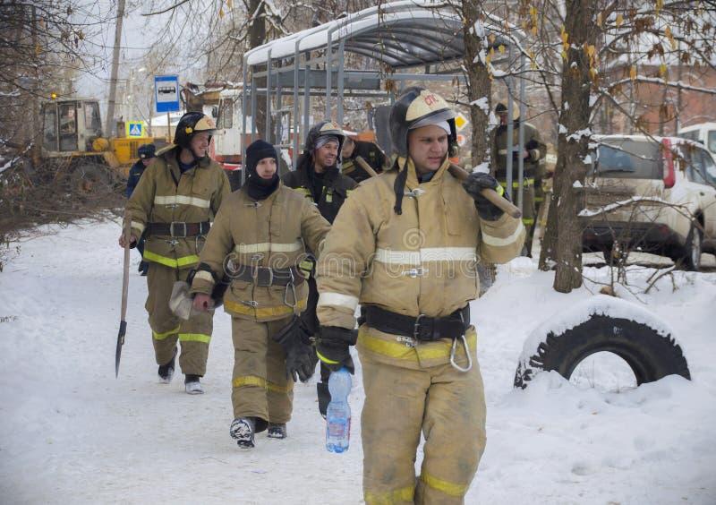 De tragedie in Ivanovo stock fotografie