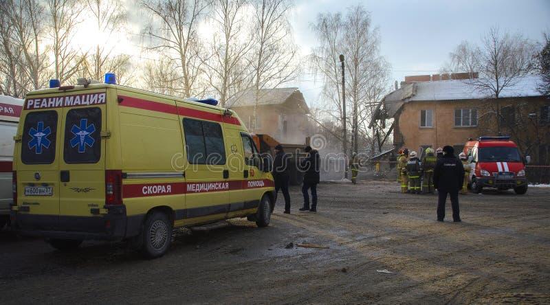De tragedie in Ivanovo stock foto's