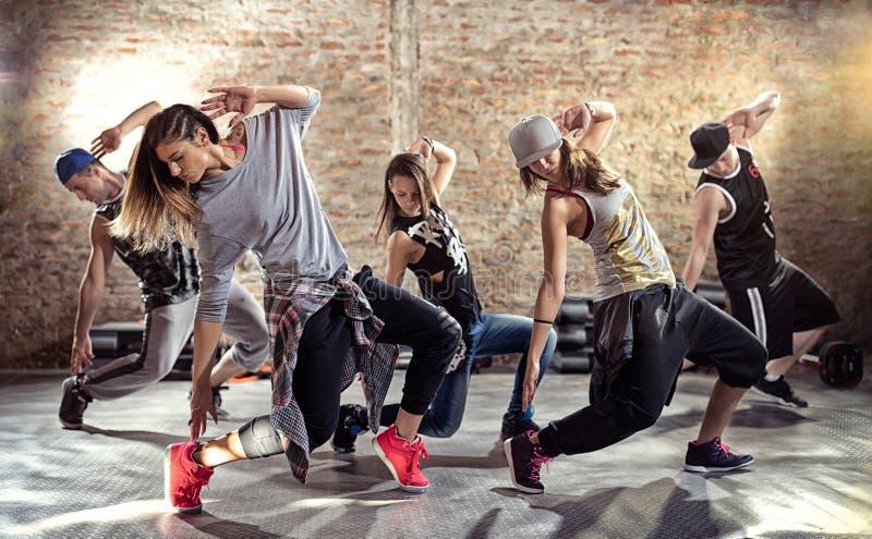 De training van de dansgeschiktheid royalty-vrije stock fotografie