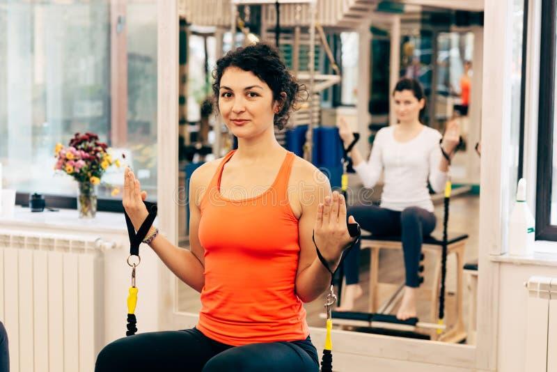 De training van Pilates royalty-vrije stock foto's