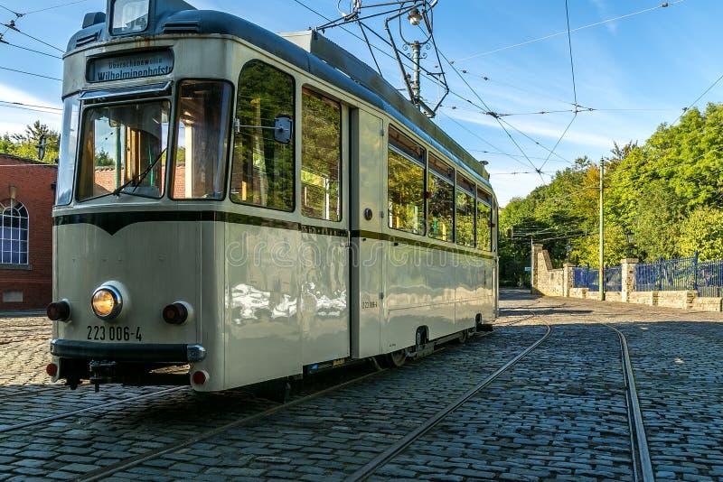 De tram van Berlijn stock foto