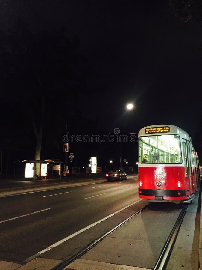 De tram van Europa royalty-vrije stock fotografie