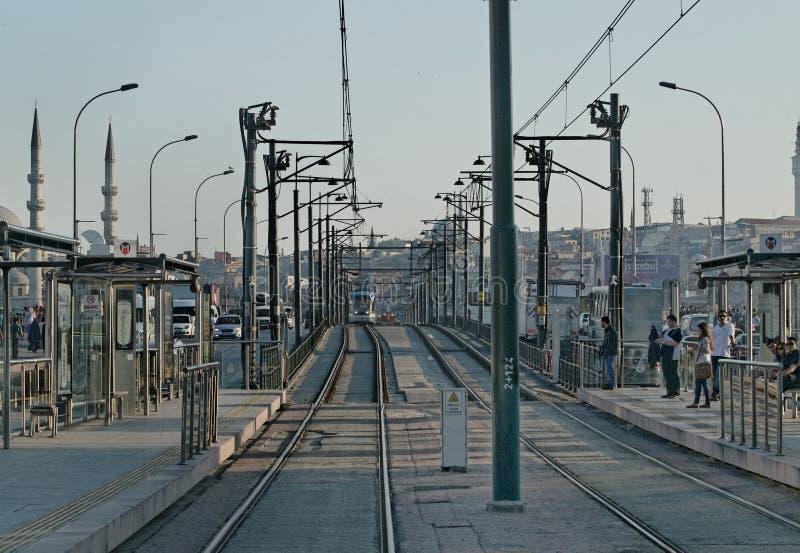 De tram van Istanboel stock foto's