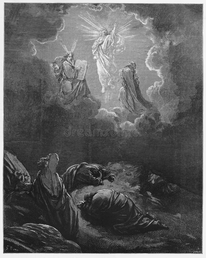 De transfiguratie vector illustratie