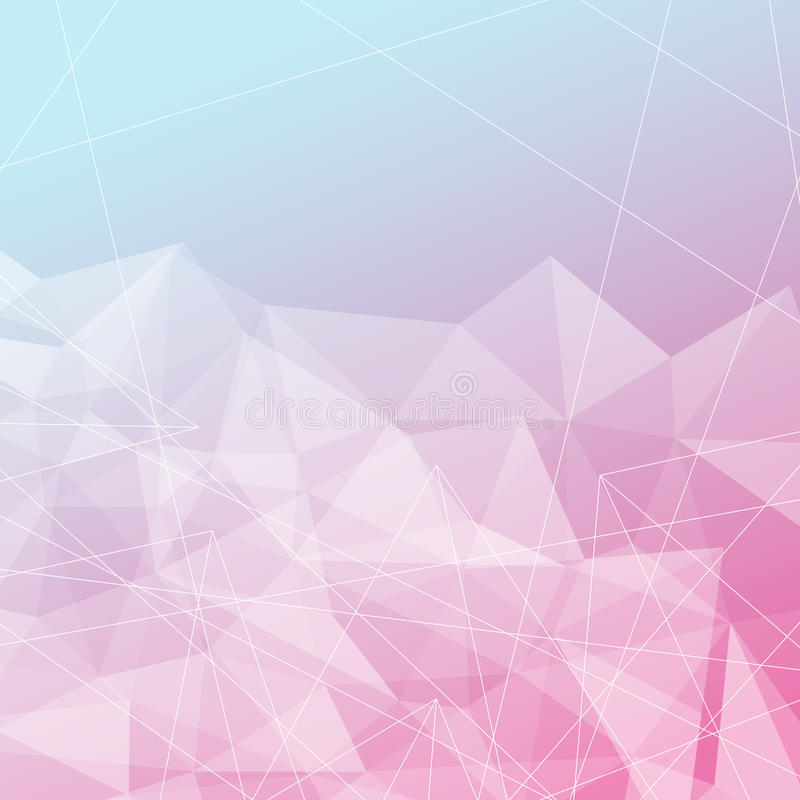 De transparante heldere achtergrond van de kristalstructuur vector illustratie
