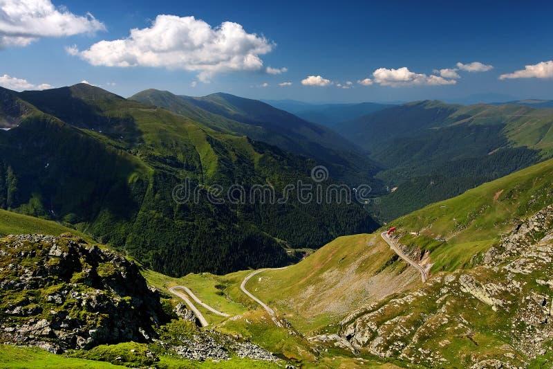 De Transylvanian-Alpen stock afbeelding