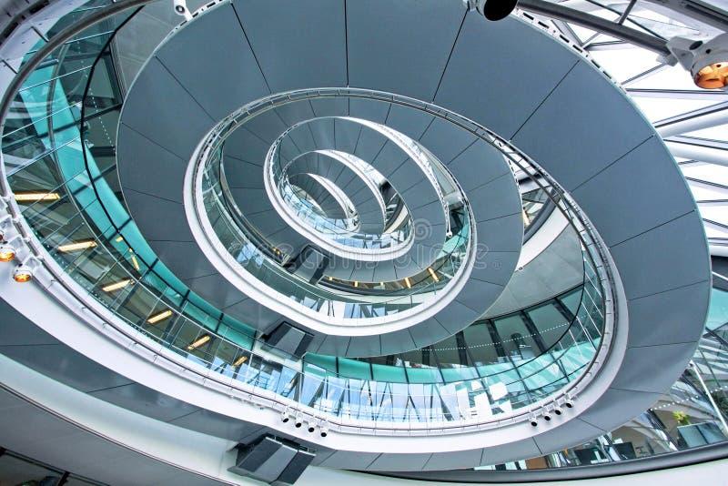 De trap van de ellips royalty-vrije stock afbeelding