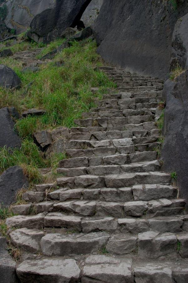Download De Trap van het graniet stock afbeelding. Afbeelding bestaande uit stijging - 288939