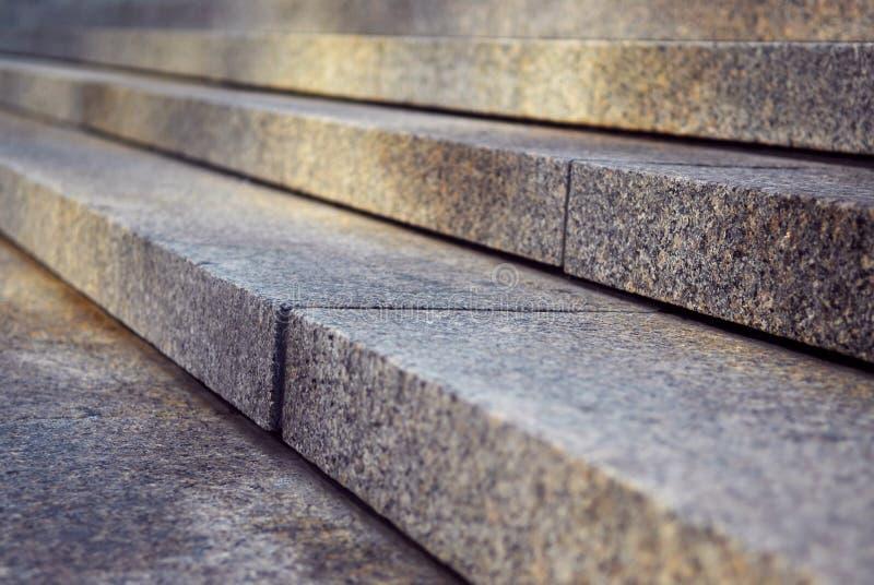 De treden van het graniet royalty-vrije stock foto