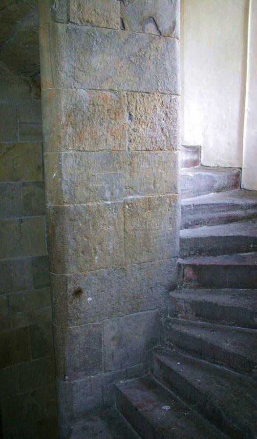 De Treden van het kasteel stock afbeeldingen