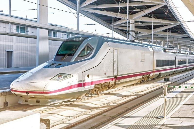 De trein van de hoge snelheid van China stock foto