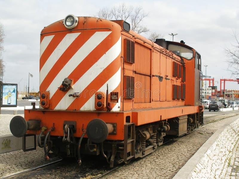 Motortrein stock foto